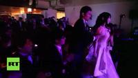 Video về lễ cưới đặc biệt giữa hai người máy