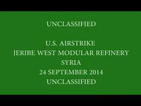 Mỹ công bố hình ảnh phá hủy các nhà máy lọc dầu tại Syria