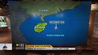 """Chiến đấu cơ Trung Quốc """"lộn vòng"""" sát máy bay Mỹ"""