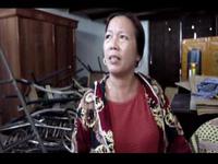 Hàng trăm hộ dân nơm nớp lo sợ sống trong những căn hà nứt toác vì ảnh hưởng từ quá trình thi công quốc lộ 1 A