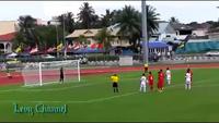 Cú panenka của Công Phượng vào lưới U21 Singapore