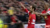 Bàn thắng của Juan Mata vào lưới Man City