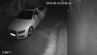 Hà Nội: Bẻ gương Audi A5 lúc nửa đêm