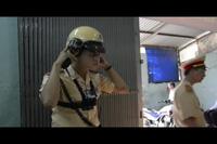 """Soi bộ """"mắt thần"""" hiện đại vừa được trang bị cho Cảnh sát giao thông"""