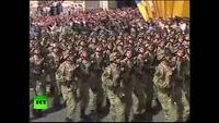 Ukraine phô trương sức mạnh quân sự trong ngày độc lập