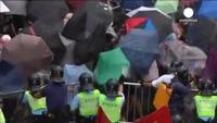 Hồng Kông: Người biểu tình đụng độ lớn với cảnh sát
