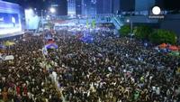 Cảnh sát Hồng Kông lại đụng độ với người biểu tình