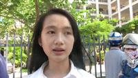 Thí sinh Đà Nẵng nhận định đề thi Tiếng Anh