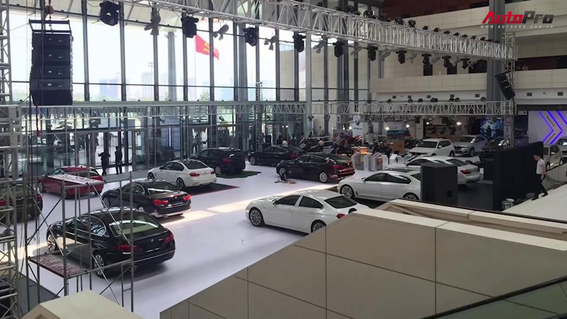 BMW World Expo Vietnam 2016 nóng trước giờ G