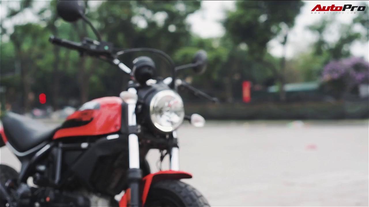 Đánh giá Ducati Scrambler Sixty2 tại Việt Nam