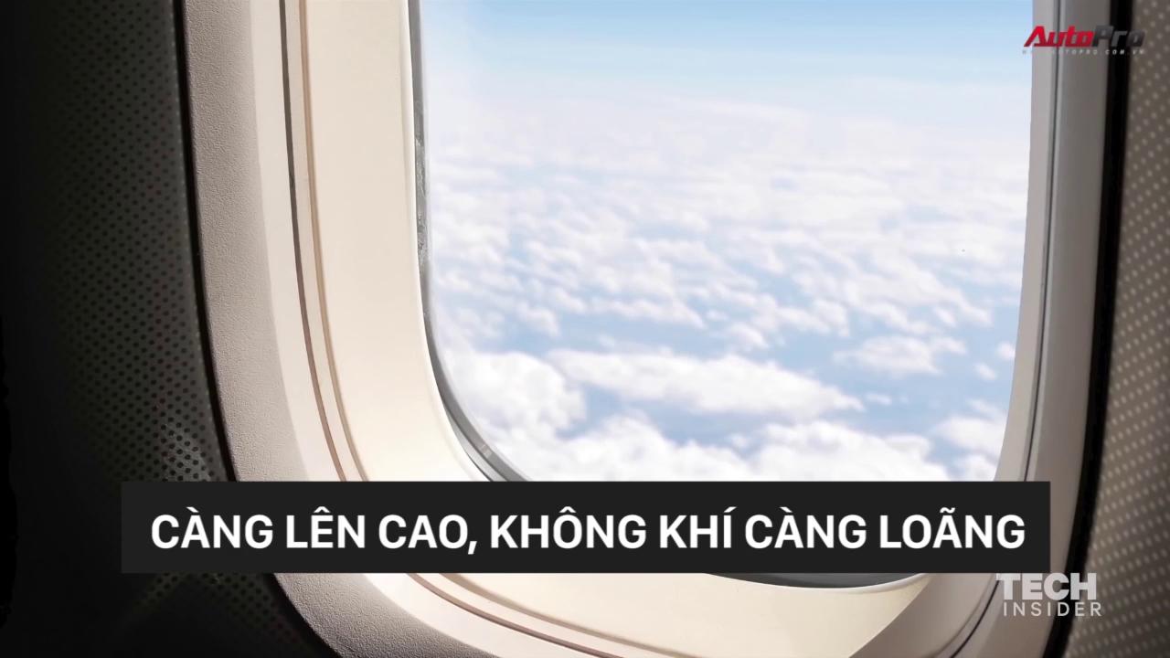 Vì sao máy bay giữ độ cao 10km khi hoạt động?