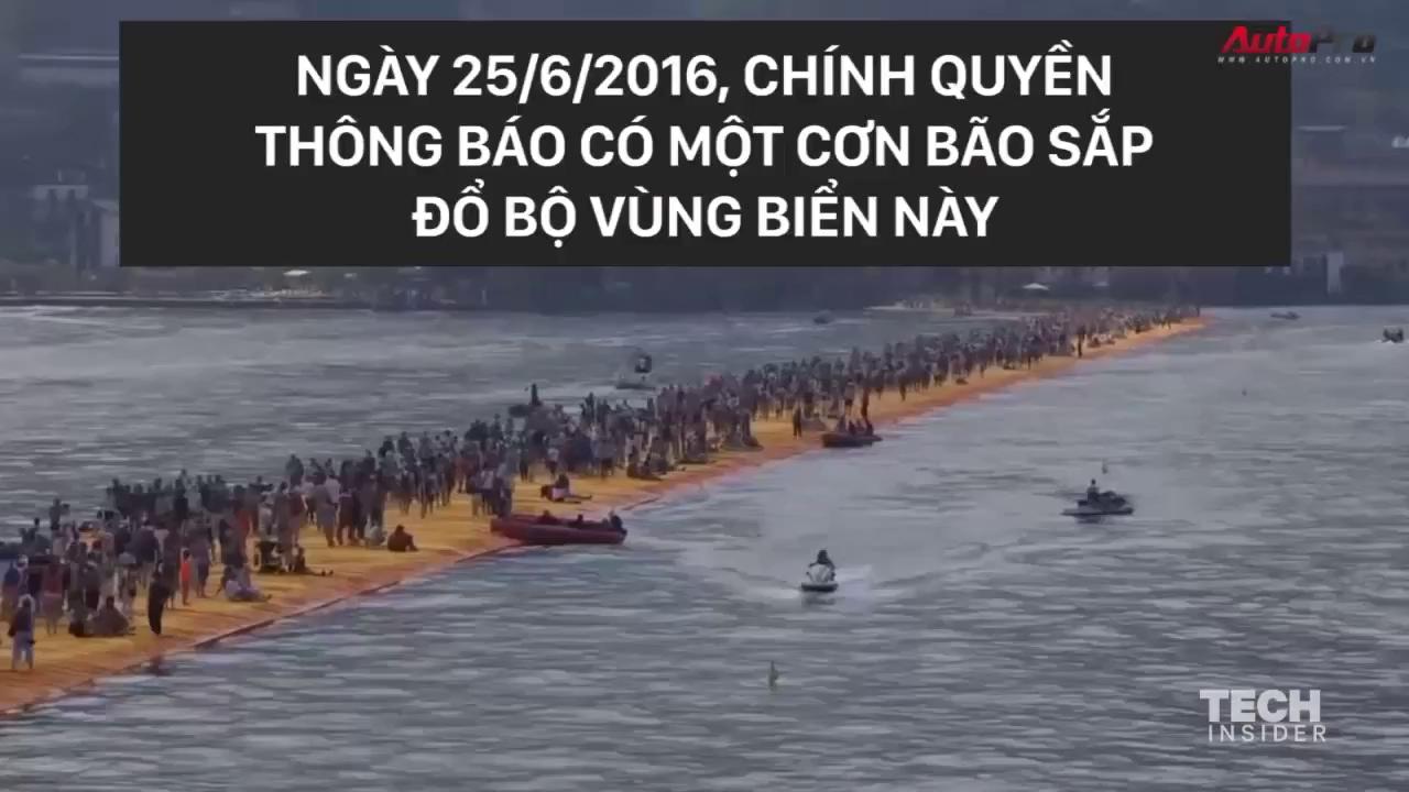 Đi bộ trên mặt nước