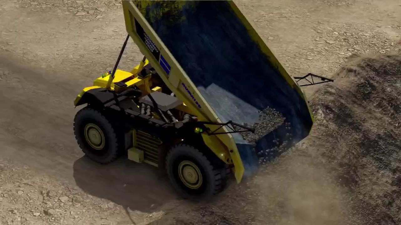 Học Tesla, xe tải hạng nặng của Komatsu sắp có thể tự lái