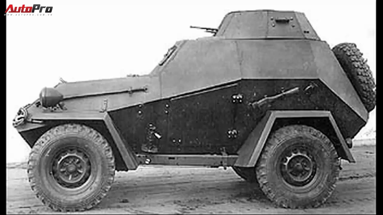 5 mẫu xe bọc thép kì lạ nhất trong thế chiến thứ 2