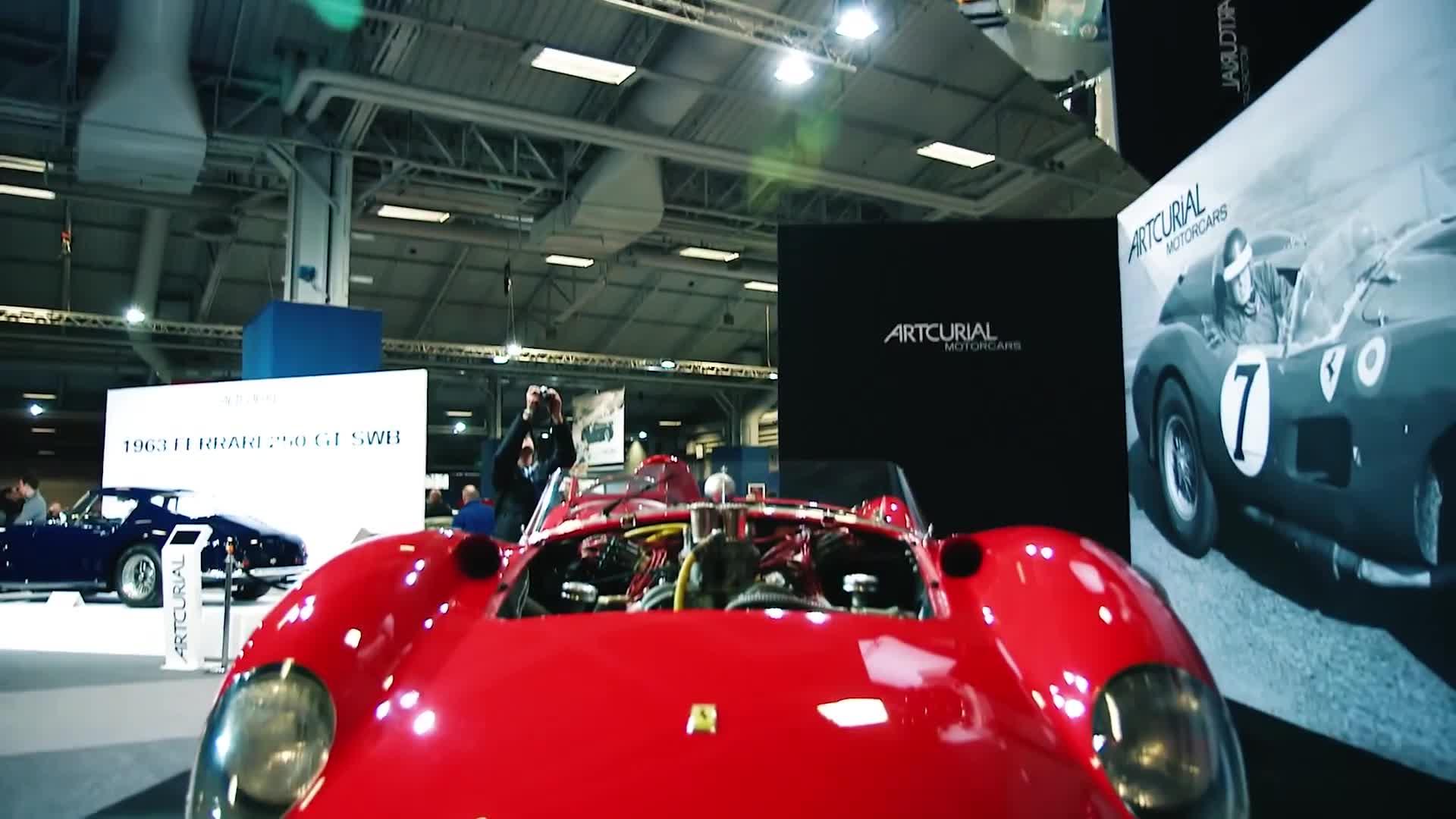 Ferrari 335 Sport Scaglietti trở thành chiếc xe đắt nhất thế giới