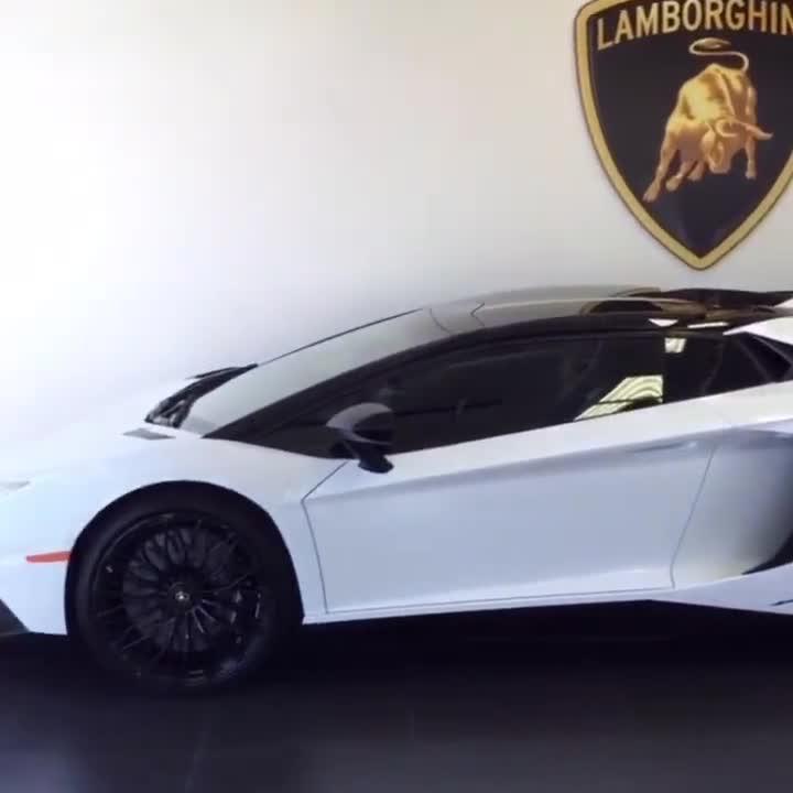 Lamborghini Aventador SV nẹt pô