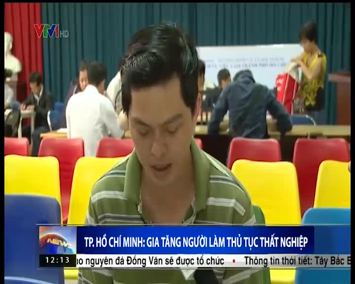 TP.HCM: Tỷ lệ làm thủ tục thất nghiệp tăng cao