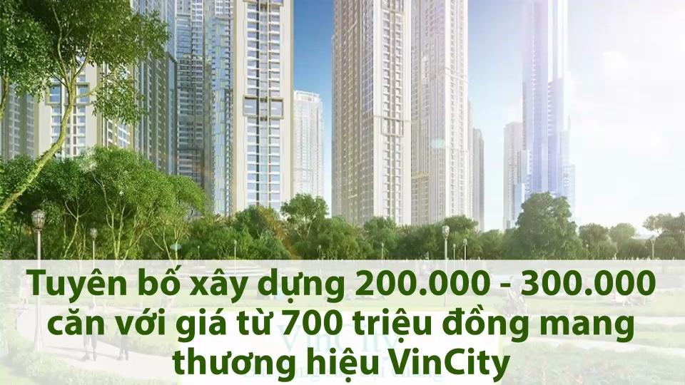 Vingroup xây nhà giá rẻ với giá 700 triệu đồng.