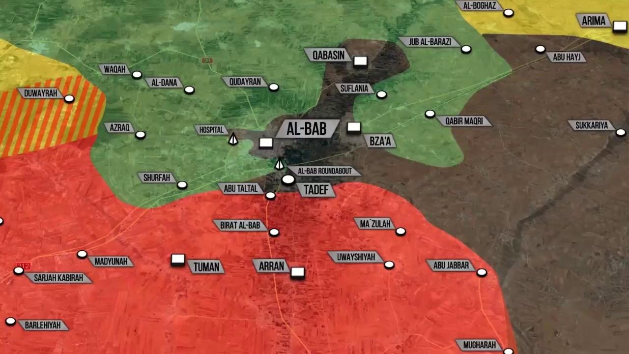 Thổ thua tan tác tại al-Bab, quân Assad tiến thẳng Deir Hafer - ảnh 1