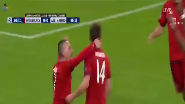 Bayern Munich 2-1 Atletico: Thầy trò Simeone tiến vào chung kết