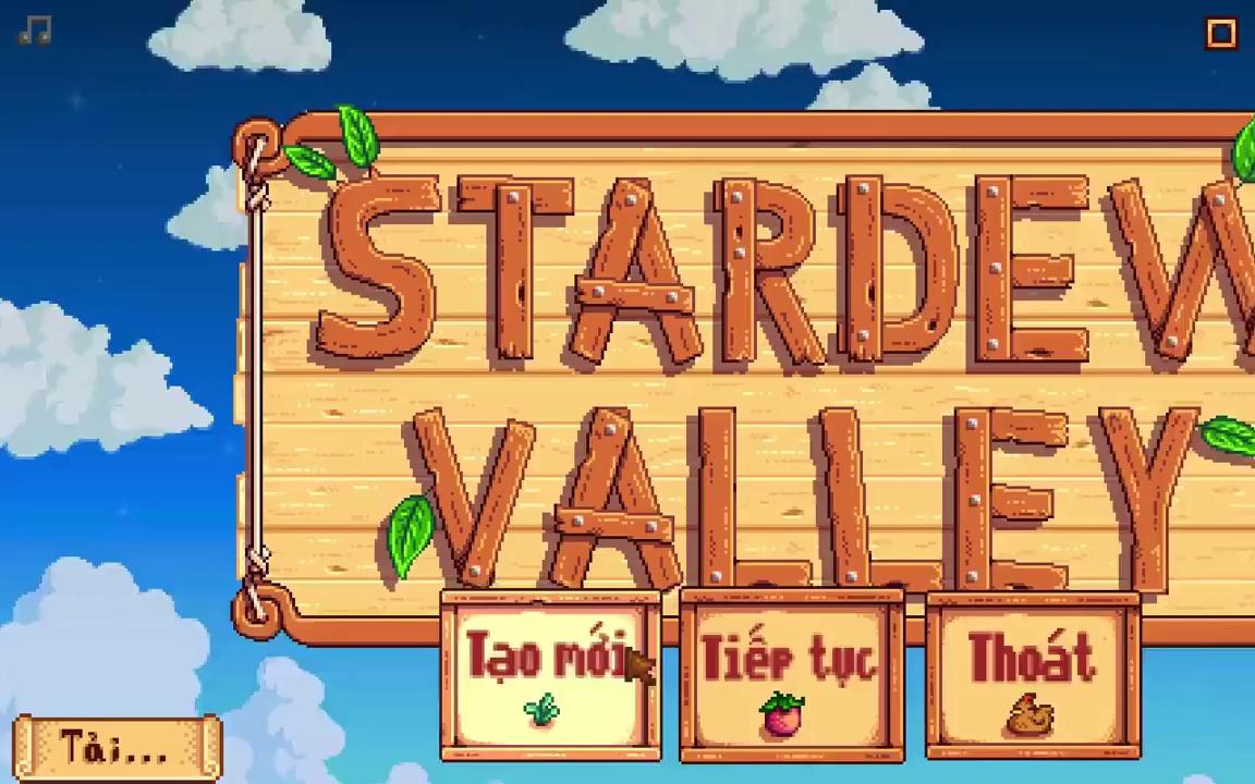 Stardew Valley bản Việt hóa tung ra bản hoàn chỉnh, hãy tải ngay tại đây