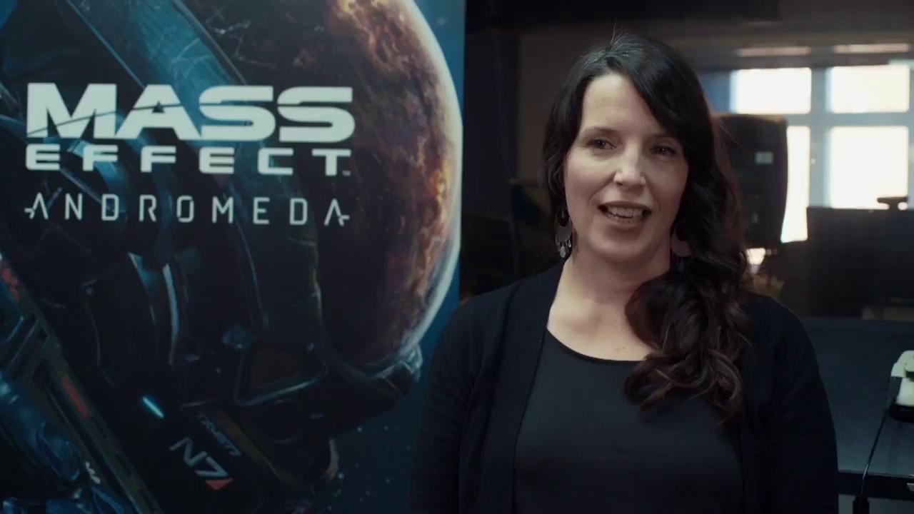 Kiều nữ vạn người mê trong Game of Thrones lộ clip lồng tiếng bom tấn Mass Effect: Andromeda