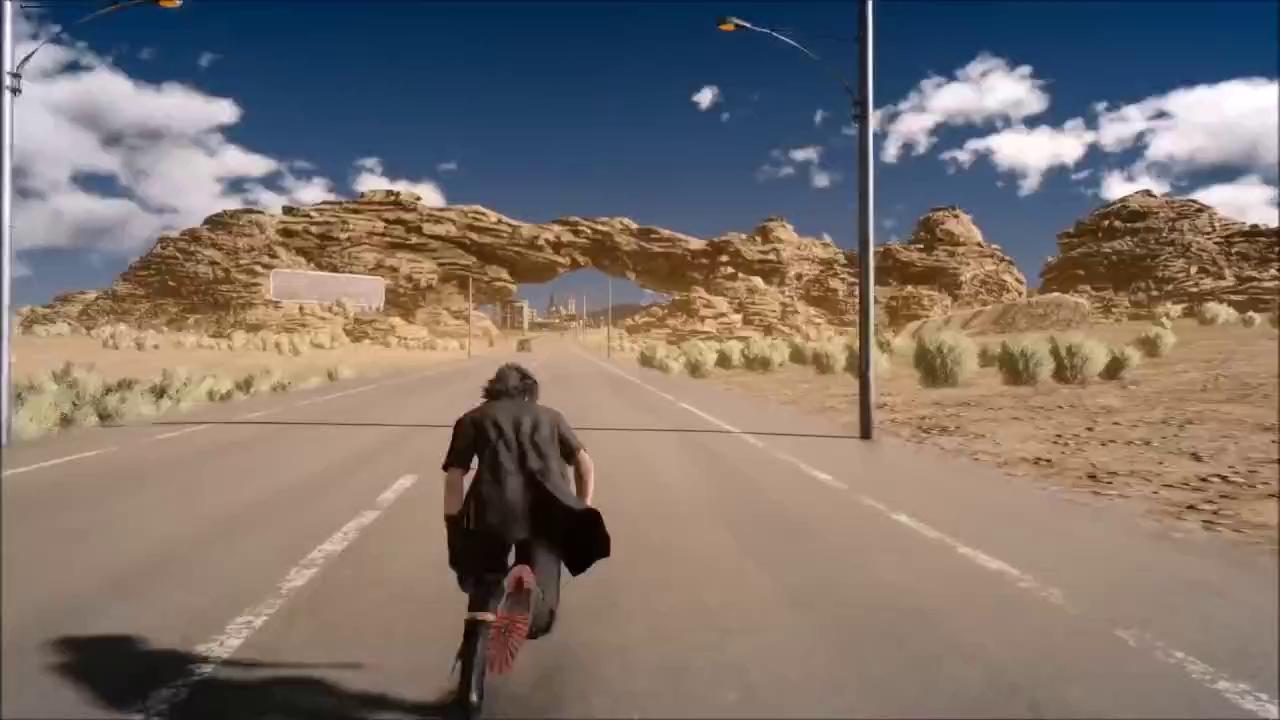 """Nghịch vui, game thủ phát hiện ra """"Thế giới thứ 2"""" trong Final Fantasy XV"""
