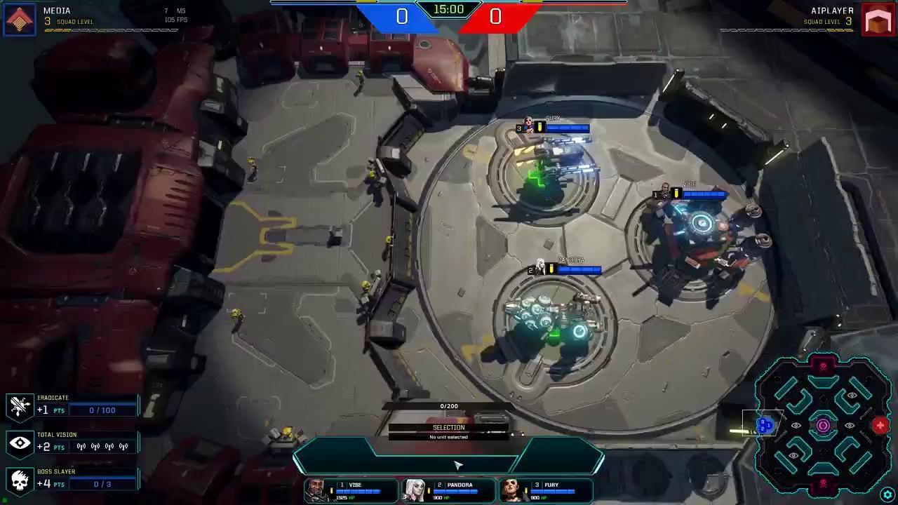 Đã có thể chơi được Dropzone - MOBA lai chiến thuật có một không hai - ảnh 1