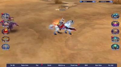 Hệ thống thú cưỡi trong game nhập vai 3D S Online: Ít nhưng