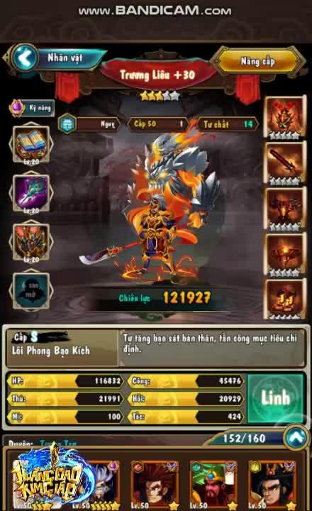 """Nhiều game thủ lập tới hàng trăm """"acc clone"""" chỉ để quay bằng được tướng cam Trương Liêu trong Hoàng Đao Kim Giáp"""