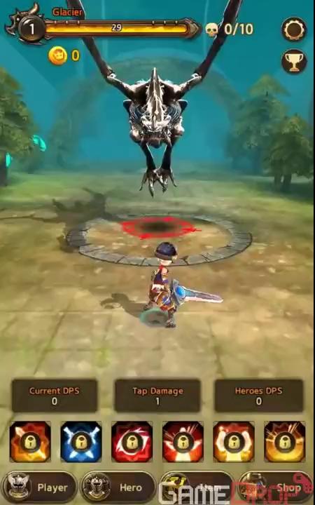 Cũng chơi mỏi tay như Tap Titans nhưng game này đồ họa đỉnh hơn nhiều - ảnh 1