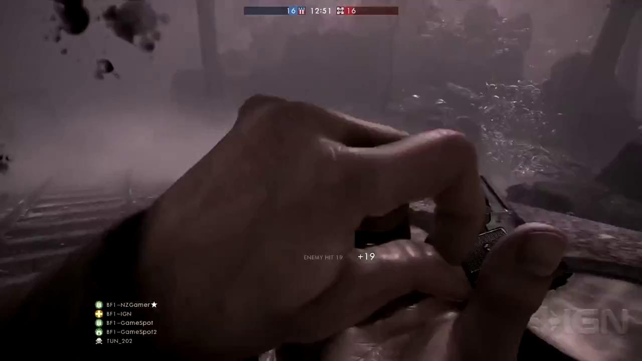 Chiêm ngưỡng Kolibri – khẩu súng chỉ bé bằng một ngón tay đang gây sốt trong Battlefield 1