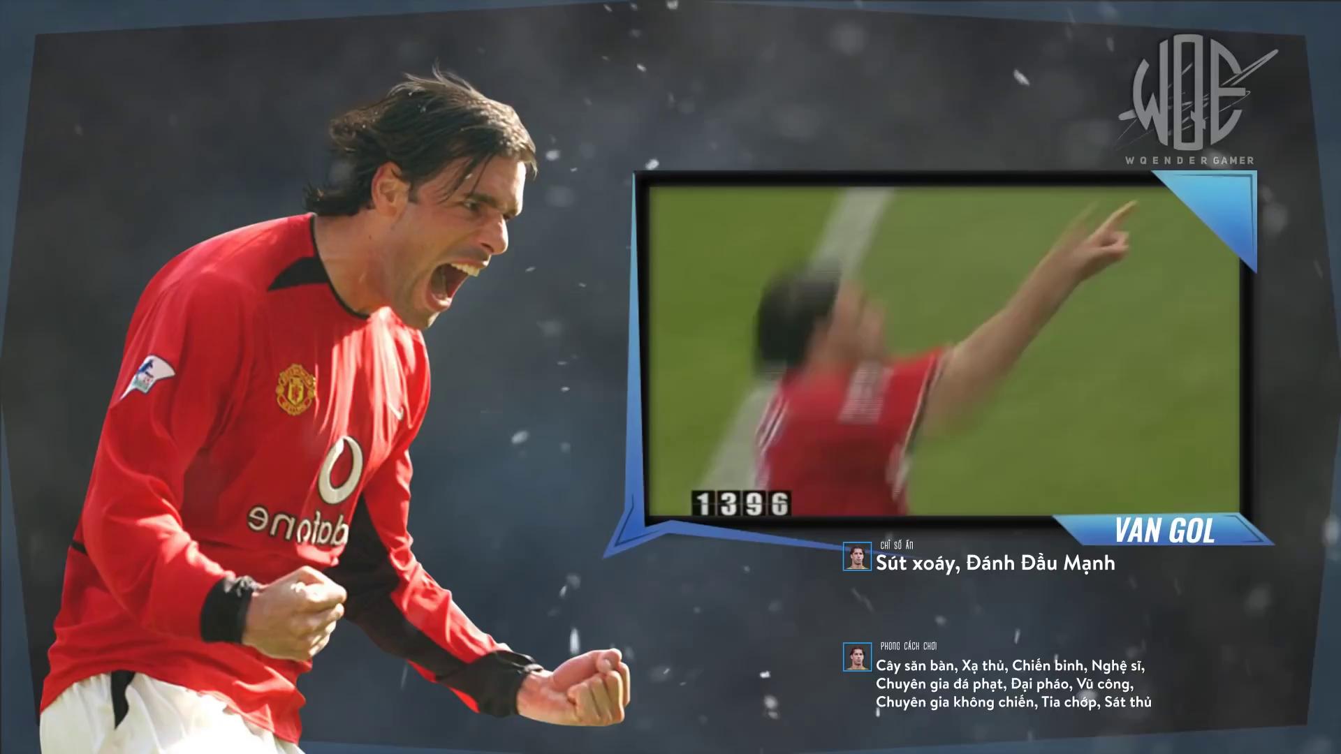 FIFA Online 3 - Van Nistelrooy WL: Sát thủ mang ADN 'Van'