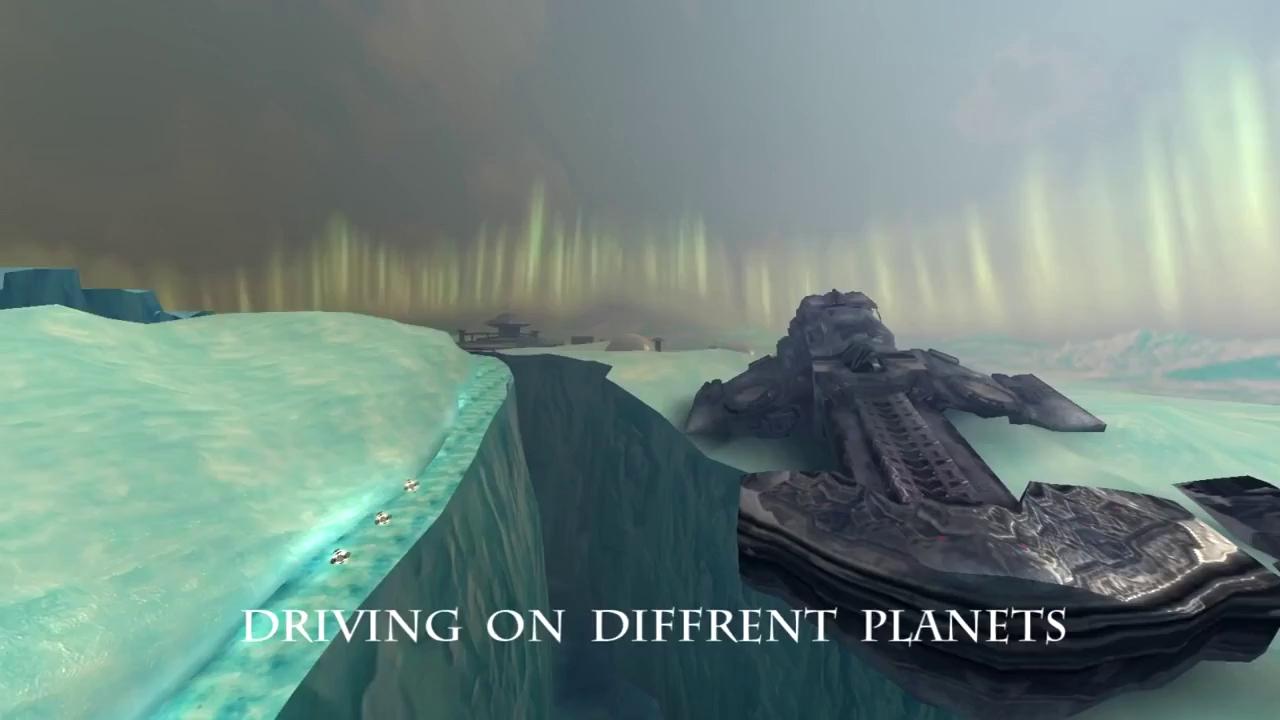 Space Racing 2 - Siêu phẩm đua xe kết hợp bắn súng đồ họa siêu đẹp