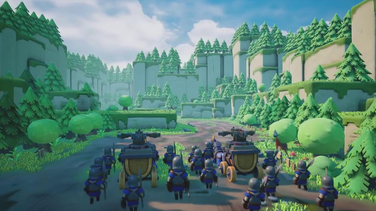 Game thuần Việt Caravan War, game thủ thành chiến thuật dễ thương đã chính thức mở cửa! - ảnh 1