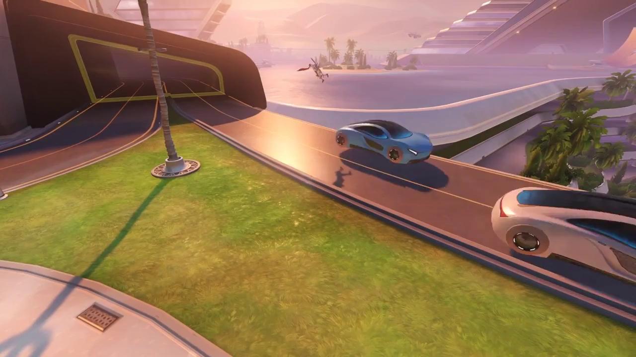 Bạn có thể bị ô tô đâm chết trong Overwatch vì qua đường không nhìn trước nhìn sau - ảnh 3