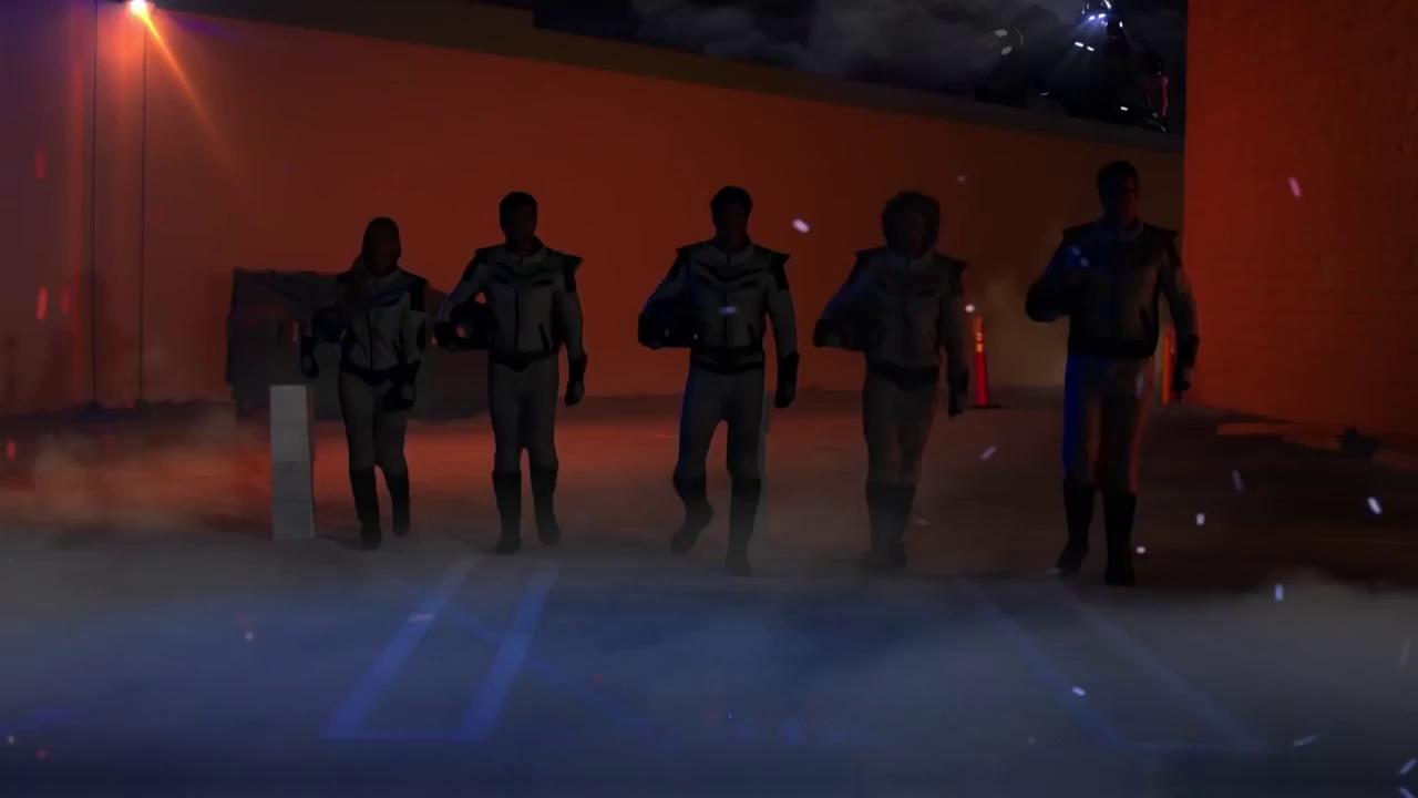 Clip Power Rangers đánh nhau cùng Dũng Sĩ Hesman do fan làm đẹp không kém phim Hollywood - ảnh 1