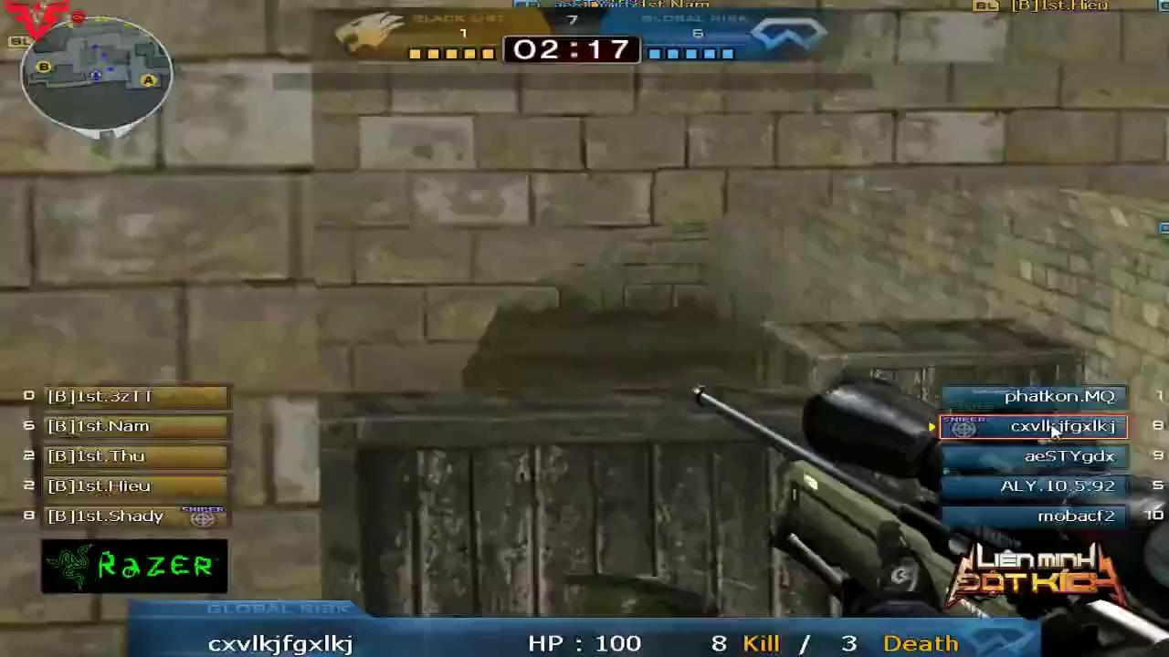 Thì ra đây chính là những tố chất cần có của một sniper chuyên nghiệp trong game bắn súng