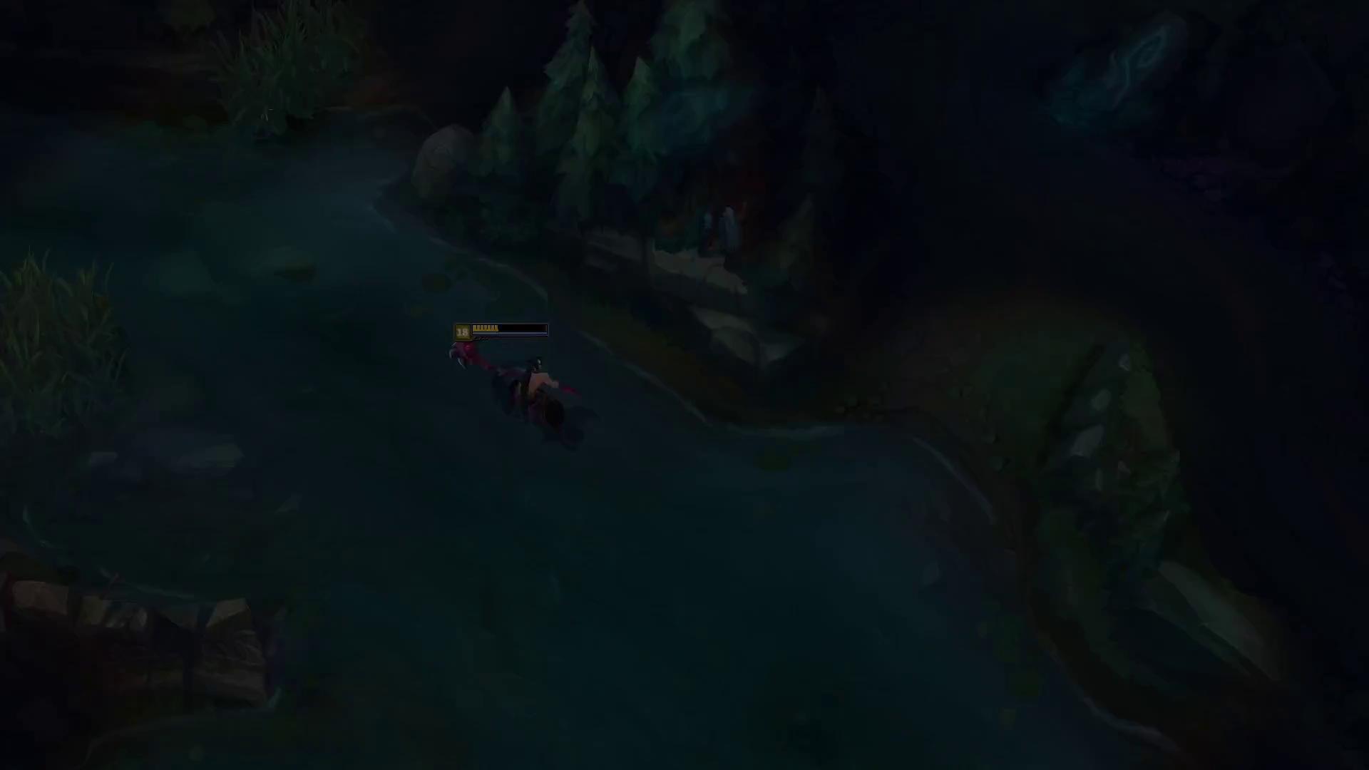 Leona dính Bug siêu khủng đi xuyên tường thoải mái, hóa ra phần ngoài bản đồ LMHT trông như thế này đây