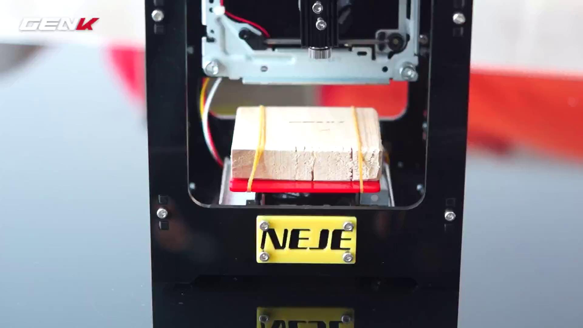 Giới thiệu máy khắc laser để bàn DK-8-KZ: giúp bạn tự làm món quà nghệ thuật tặng người thương - ảnh 1