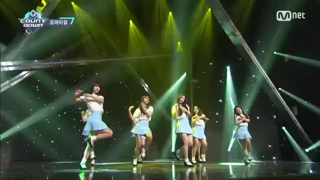 "M! Countdown: ""One Step Two Steps"" - Oh My Girl"