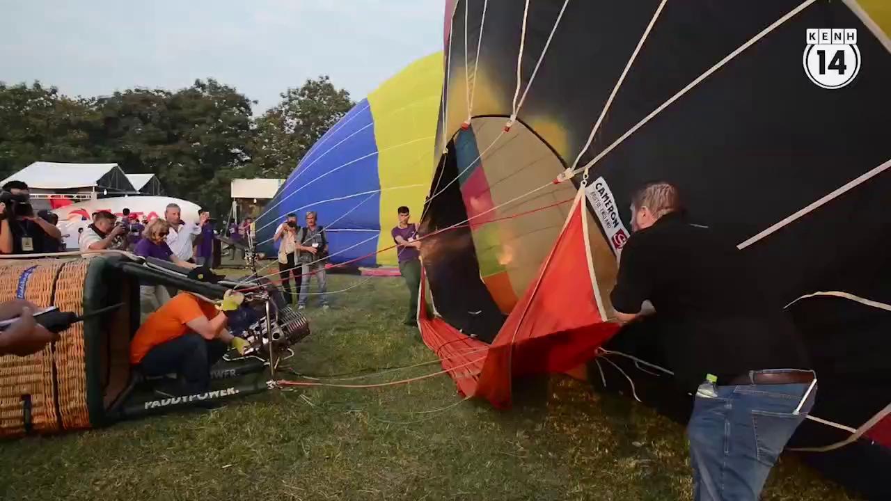 Trải nghiệm bay trên cố đô bằng khinh khí cầu
