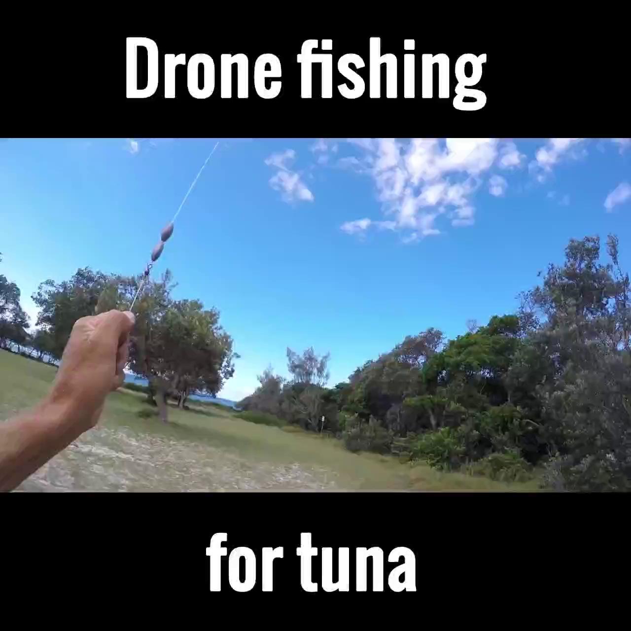 Câu cá với sự hỗ trợ của... Flycam