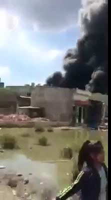VIDEO cháy lớn ở xưởng sản xuất Bình Chánh