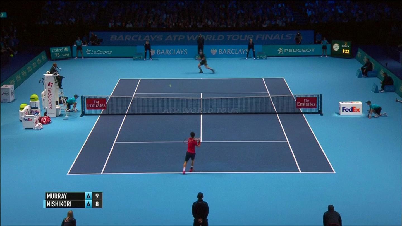 Nishikori thua ngược tức tưởi, Murray áp sát vòng bán kết ATP Finals