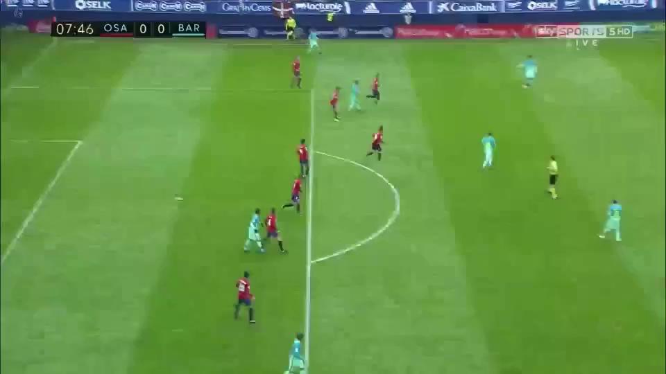 Barcelona nhấn chìm Osasuna, Ramos cứu nguy Real Madrid