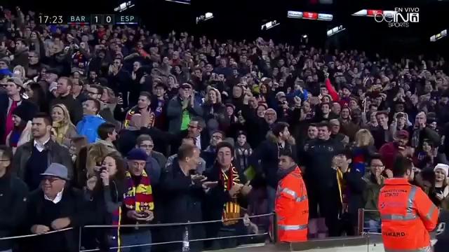 Espanyol tan tác, Barcelona thắng tưng bừng đại chiến Catalunia