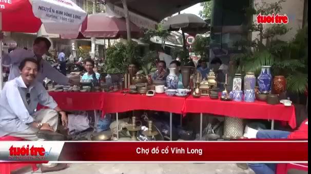 Tham quan chợ đồ cổ Vĩnh Long