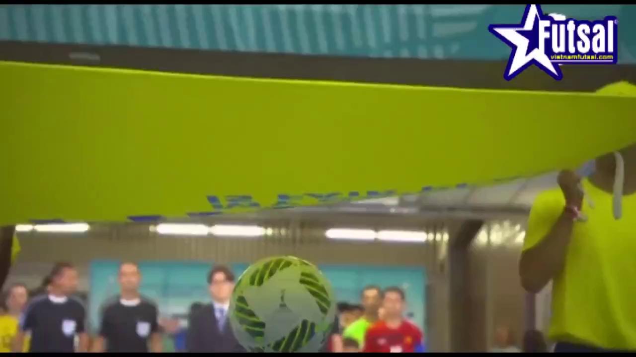 Xem 4 bàn thắng của tuyển Việt Nam ở World Cup futsal