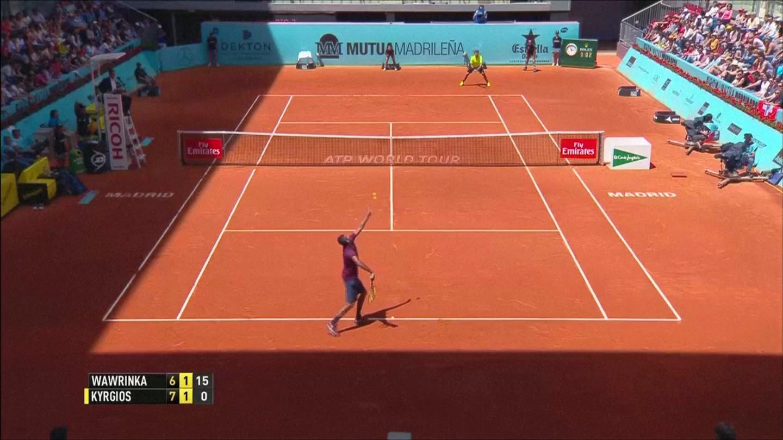 Xem Wawrinka thua sốc Kyrgios, nhà vô địch nữ bị loại